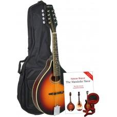 Ashbury A Style Mandolin, TOSB Pack