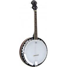 Ashbury Tenor Banjo, 17 Fret, Mahogany