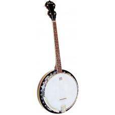 Ashbury Tenor Banjo, 19 Fret, Mahogany