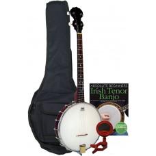 Blue Moon Openback Tenor Banjo Pack