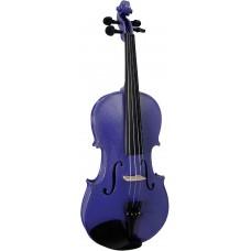 Blue Moon Purple Violin 3/4 Size GR65007E
