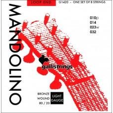 Galli Mandolin Strings, Bronze. Lights G1420