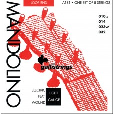 Galli Mandolin Strings, Bronze. Lights A181
