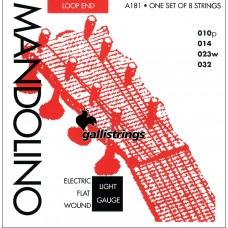 Galli Mandolin Strings, Bronze. Lights AFW1032