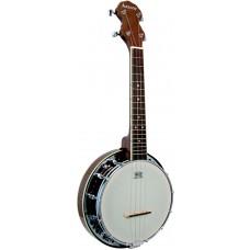 Ashbury Ukulele Banjo, Resonator, Walnut