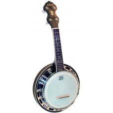 Ashbury Ukulele Banjo, Resonator, Mah