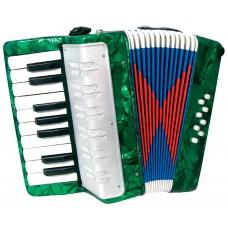 Scarlatti Child's Piano Accordion, Green