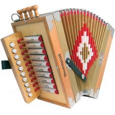 Scarlatti Cajun Melodeon in C