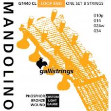 Galli Mandolin Strings, G1440 CL Ph/Bz. Light