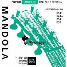 Galli Octave Mandola, Ball Ended Set PHB90 ballend