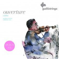 Galli Violin Overture Strings 3/4