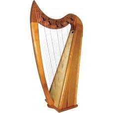 Stoney End Eve 22 string Harp, 6 Lever