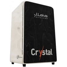 Leiva Crystal Cajon, 6 String Clear