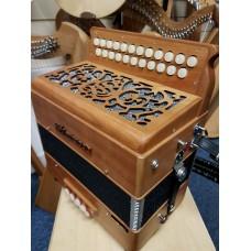 Sherwood: B/C Button Accordion, Cagnoni Reeds
