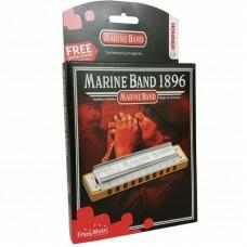 Hohner Marine Band 1896 Harmonica Key B