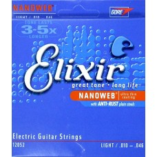 Elixir Nanoweb Super light 009-042 electric guitar strings
