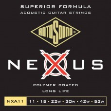Rotosound NXA11 Nexus coated acoustic string