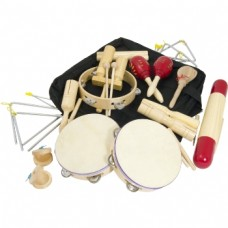 17 piece percussion set