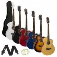 Tiger Electro Acoustic Guitar Package